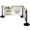 economy cafe barrier - kit 2 - coffee house