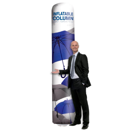 inflatable outdoor column