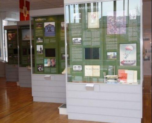Museum floor showcase 2