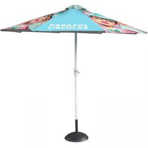 promotional parasol circular