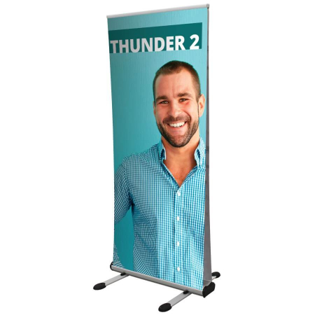 Thunder 2 outdoor banner stand