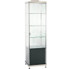 adcb small upright cabinet with black cupboard hire