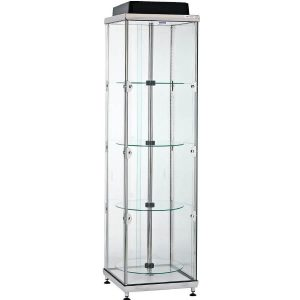 ADTT small upright hire cabinet with rotating shelves