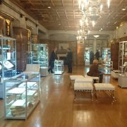 display cases hire - ink fair london