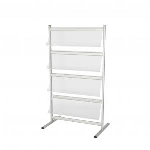 DP46 4 tier literature rack hire