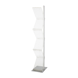 DP48 zig zag literature rack hire