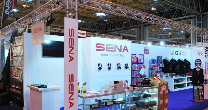 Gantry exhibition stand