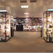 glass display case hire - olympic village