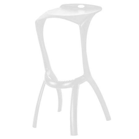 Hexa bar stool in White