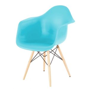 Hire Daw arm chair in Blue