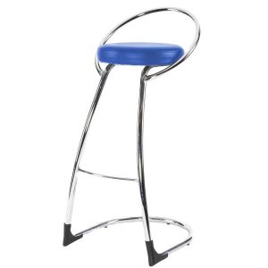 Hire Delta bar stool in Blue