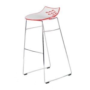 Hire Jam stool in Red