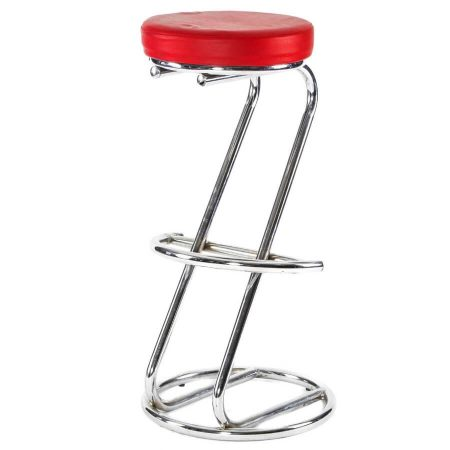 Hire Z bar stool in Red