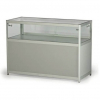 LC01 glass counter display hire - rear