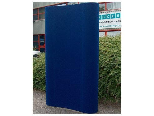 1x3 quad curved pop up tower hire