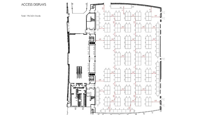 shell scheme hall plan example 7