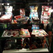small display cabinet hire - lego