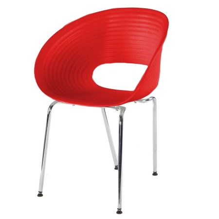 Hire Tom Vac chair in Red