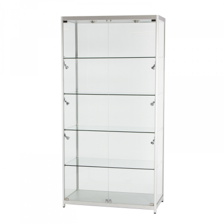 TS34 freestanding display case hire