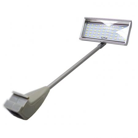 AD 1060 LED exhibition flood light in Silver