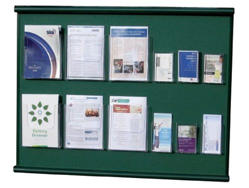 Bespoke felt notice board with pockets