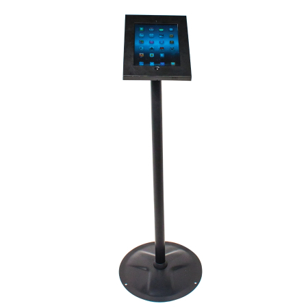 Freestanding iPad Holder in black