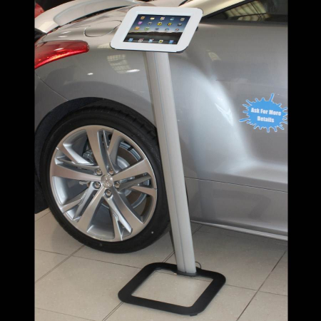 Lectern Style iPad Display Stand
