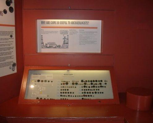 existing display case 2 - verulamium museum