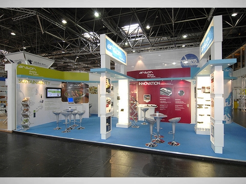 Custom Built Exhibition Stand Slideshow