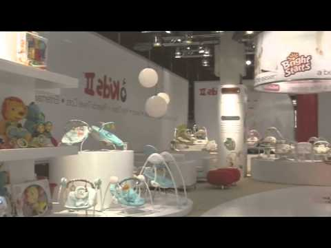 Custom Exhibition Stand Build for Bright Starts Kids II at Kind und Jugend, Cologne, Germany