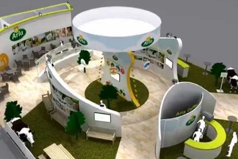 Exhibition Stand Design - Arla Foods Fly through