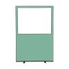 1200 (w) x 1800 (h) glazed office screen - Ivy Woolmix