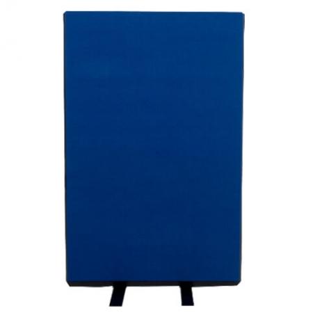 700mm (w) x 1200mm (h) office screen - Nyloop Blue