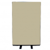 700mm (w) x 1200mm (h) office screen - Woolmix Beige