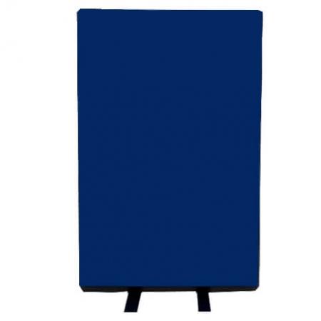 700mm (w) x 1200mm (h) office screen - Woolmix Blue