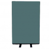 700mm (w) x 1200mm (h) office screen - Woolmix Green