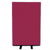 700mm (w) x 1200mm (h) office screen - Woolmix Merlot