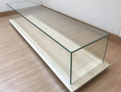 Custom UV bonded glass box