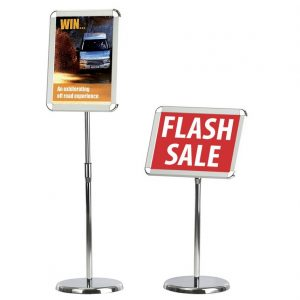 Telescopic A3 Sign Holder