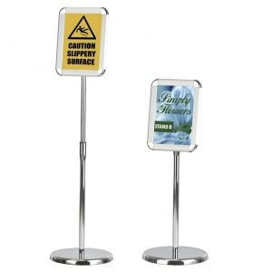 Telescopic A4 Sign Holder
