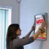 Trappa frame - adjusting a poster