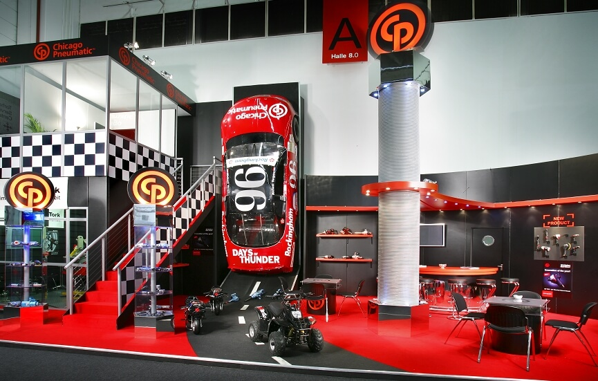 16m x 16.5m exhibition stand at Automechanika