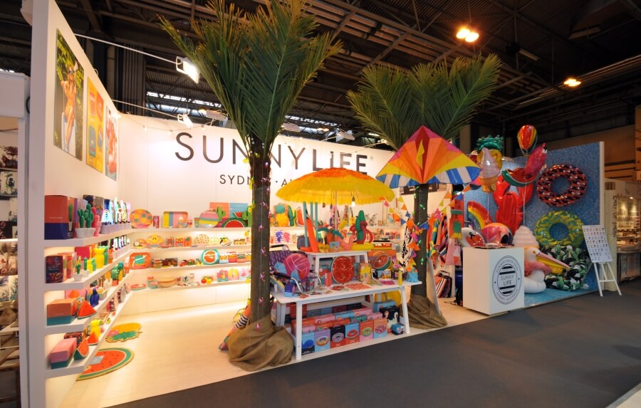 10m x 3m exhibition stand at Spring Fair