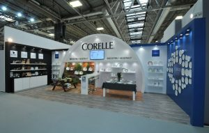 9m x 3.5m exhibition stand at Spring Fair