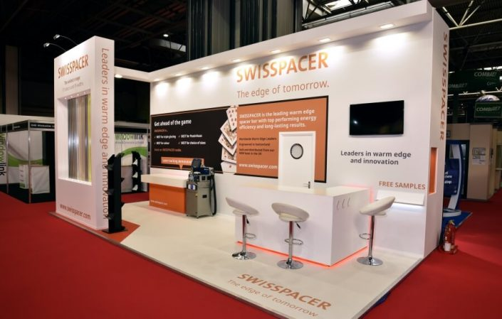 8m x 3m exhibition stand at The Fit Show