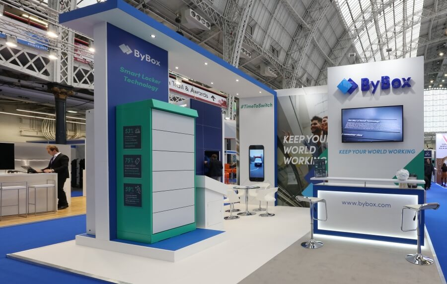 6m x 5m exhibition stand at RBTE - ByBox
