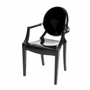 Hire Ghost chair in Black