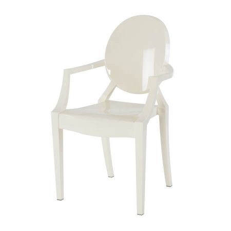 Hire Ghost chair in White