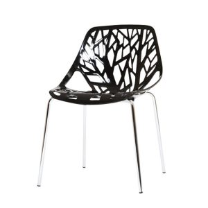 Hire Lily chair in Black