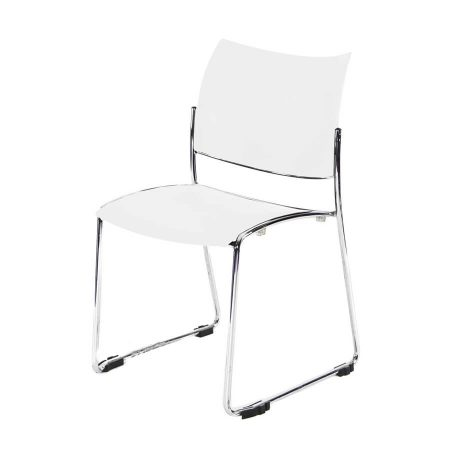 Hire Stacking chair in White